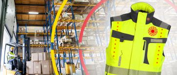 Smart clothing for ELOshield - the assistance system for forklift trucks